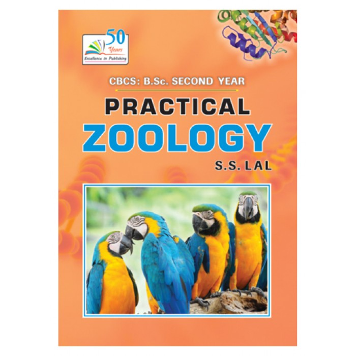 practical zoology, dr  s s  lal, cbcs, b-sc 2nd year