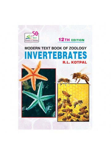 MODERN TEXT BOOK OF ZOOLOGY: INVERTEBRATES